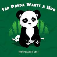 sad panda by ramy