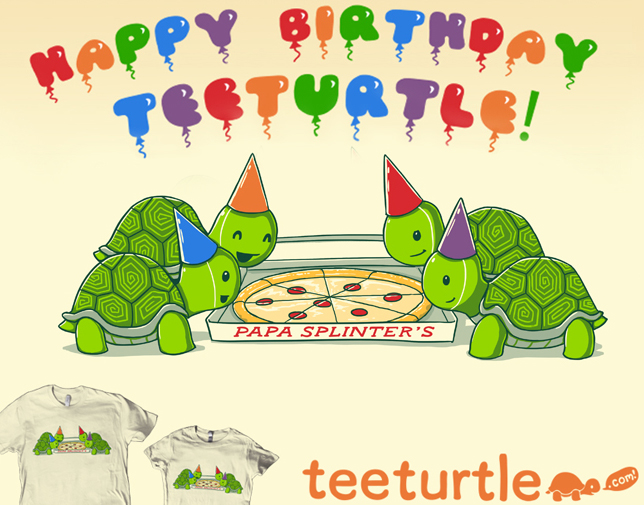 Turtle Pizza Party by ramy