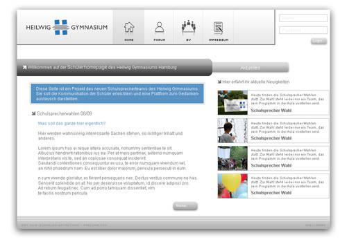 hwg.students homepage
