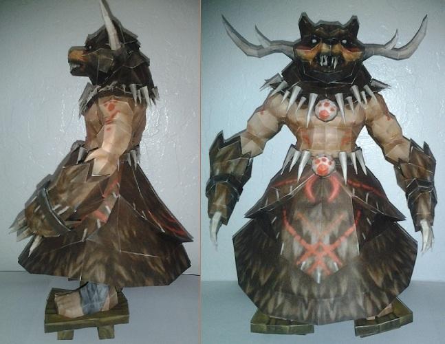 Udyr(Primal) by portaldragon