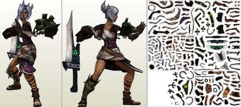 Riven - template by portaldragon
