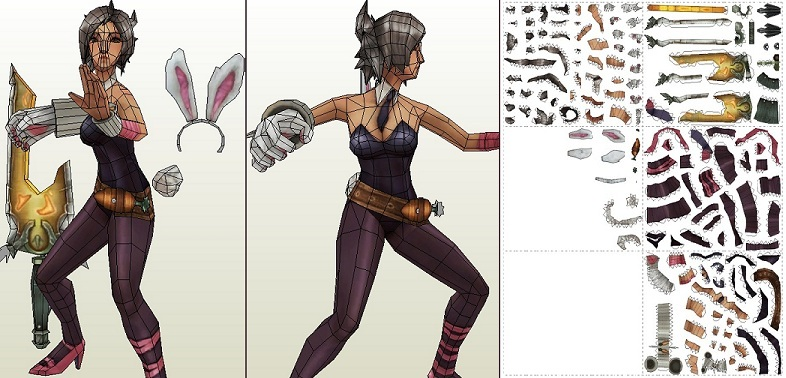 Riven(BattleBunny) - template by portaldragon