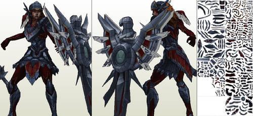 Leona(Iron Solari) - template
