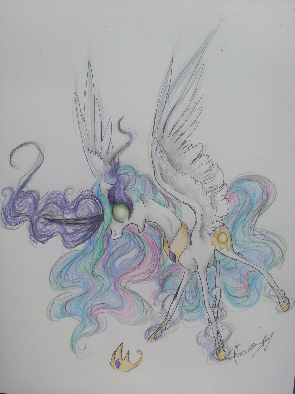 Celestia Corrupted by Creeate97