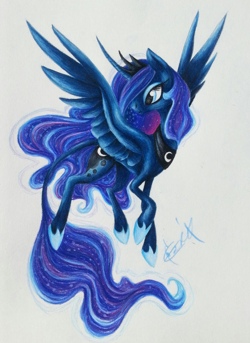 Princess Luna by smupitpony