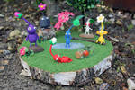 Pikmin forest scenery
