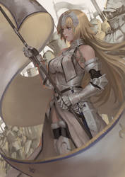 Jeanne D'Arc fate/grand order by gantzu