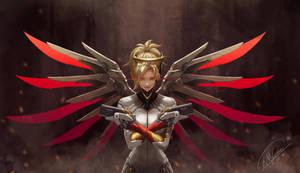 Angel Of Death (Mercy) Overwatch by gantzu