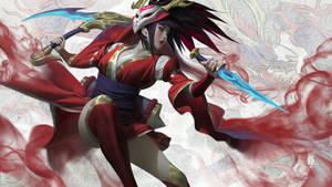 Bloodmoon Akali - League of Legends