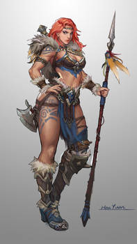 Barbarian Soldier