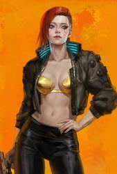 Cyberpunk 2077 Fan art