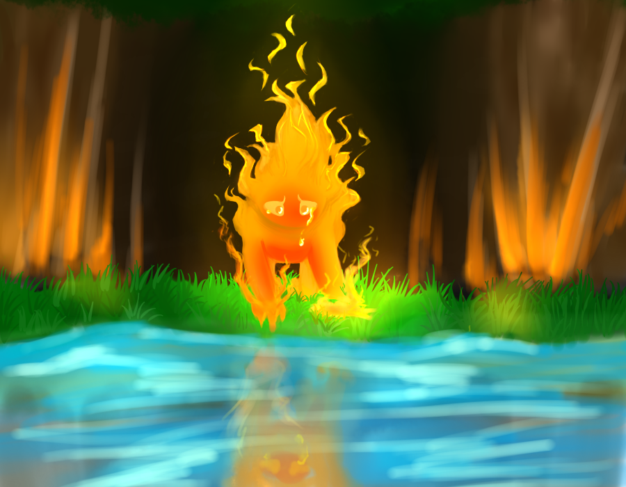 The Existence Of Fire by Demon-Cinders