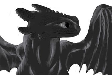 Toothless by Demon-Cinders