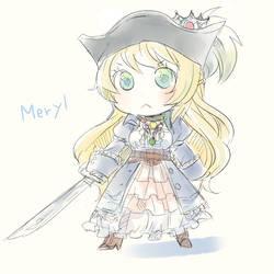 Princess sketch by doublejoker00