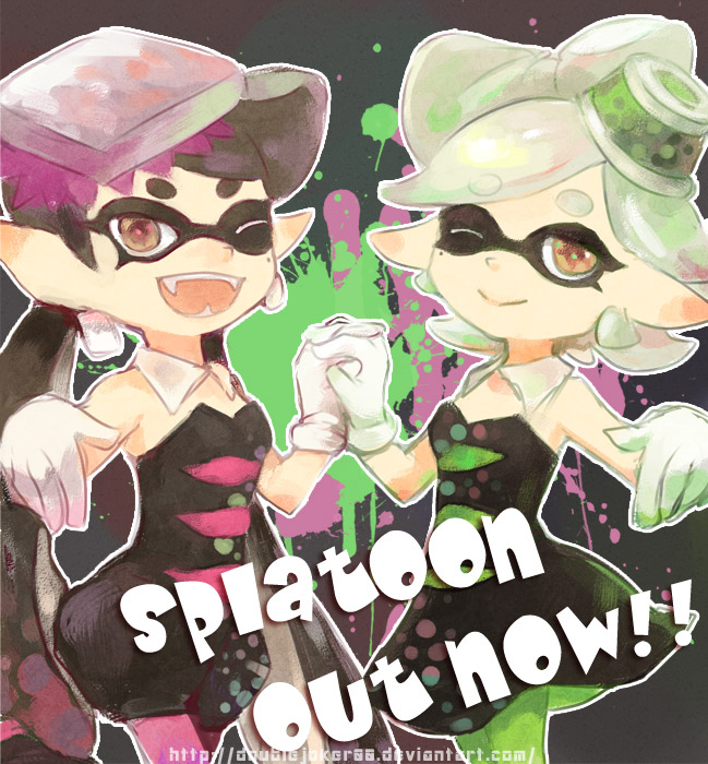 Squid girls by doublejoker00