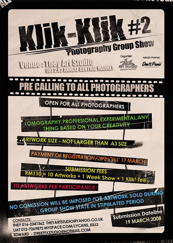 Klik Flyer Design by Street-FX