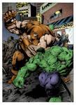 Hulk vs Juggernaut