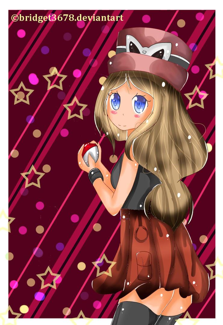 Image Result For Pokemon Serena Coloring