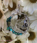 Lunar Howling Tree of Life Pendant *SOLD*