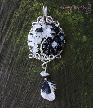 Yin Yang Tree of Life Pendant *SOLD*
