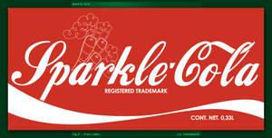 Sparke-Cola Bottle: Label (Fallout Equestria)