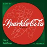 Sparke-Cola Bottle: Bottelcap (Fallout Equestria)