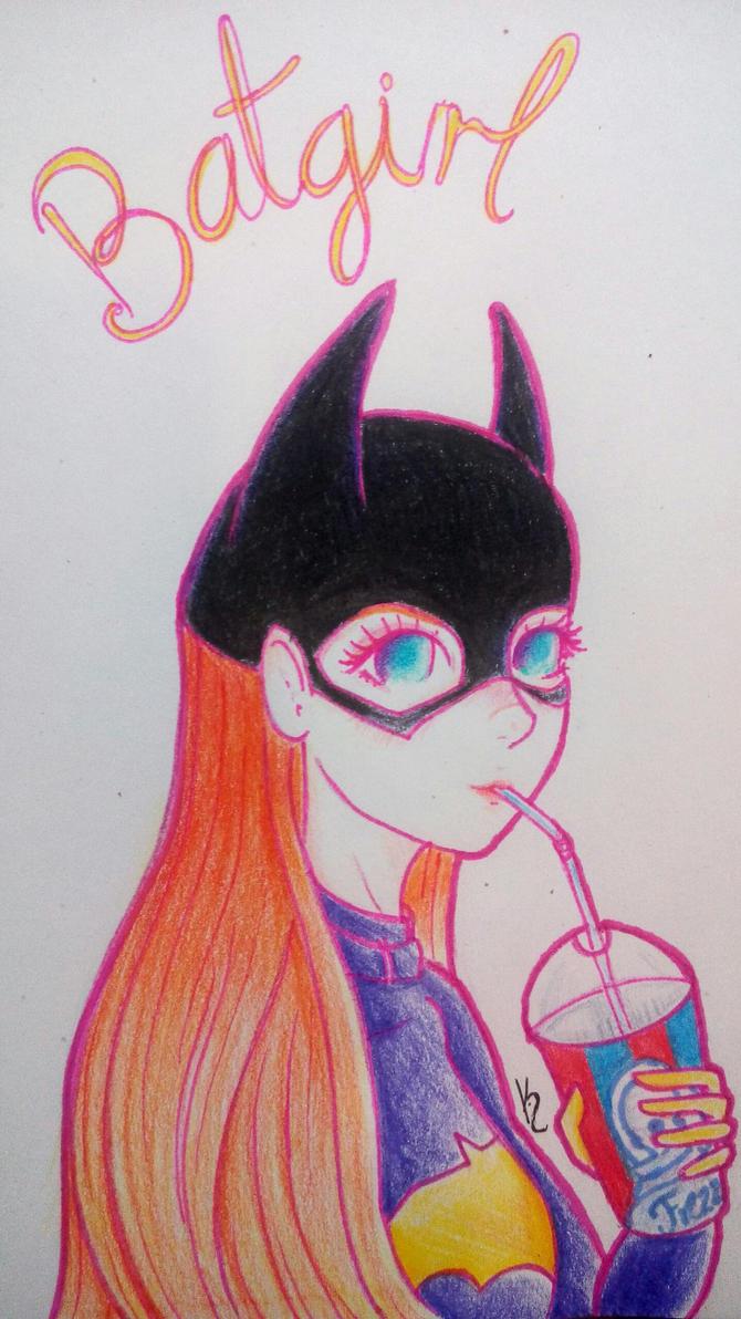 Batgirl by Gigkka