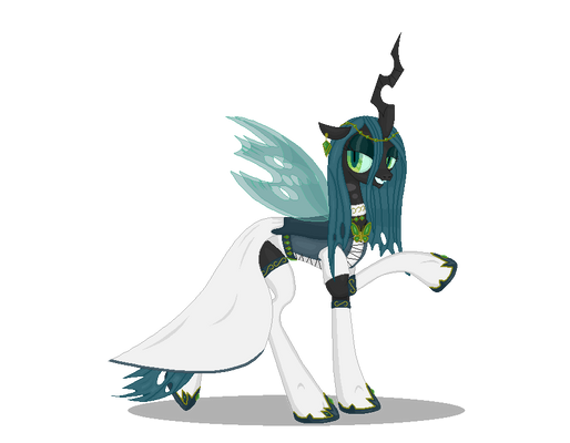 Chrysalis' dress