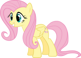 Fluttershy excited by Myardius