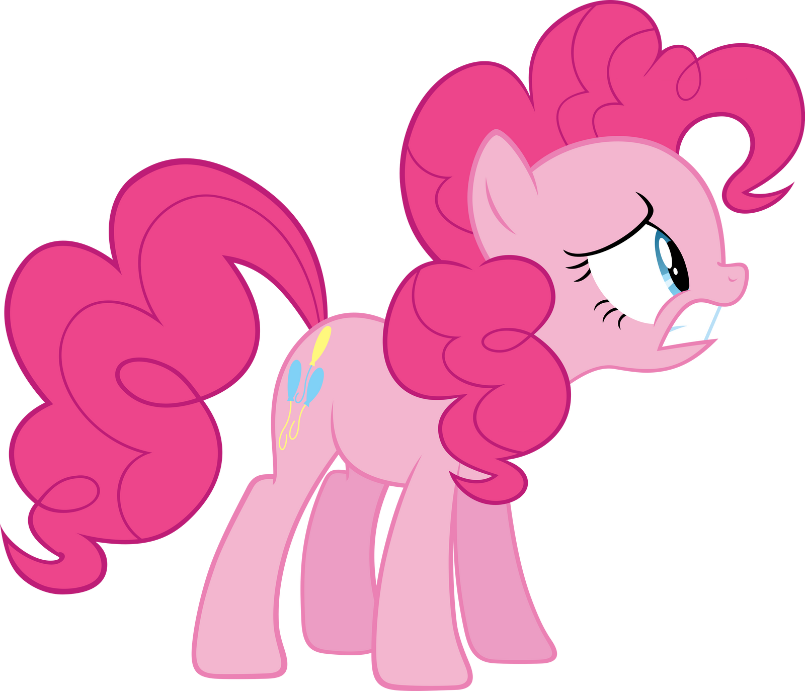 Pinkie Pie distressed by Myardius