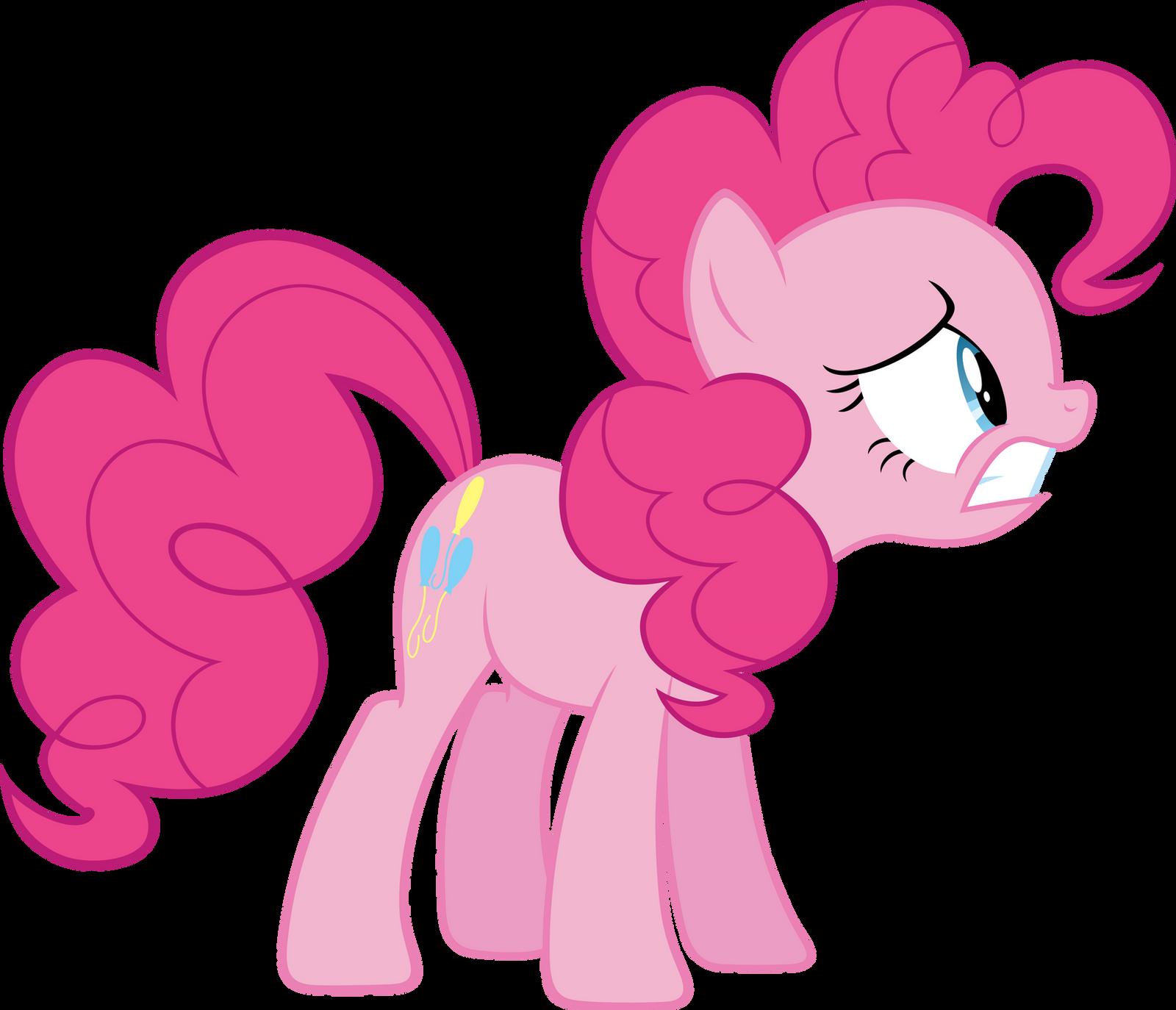 Pinkie Pie distressed by Myardius