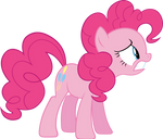 Pinkie Pie distressed