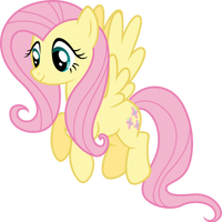 Fluttershy happy by Myardius