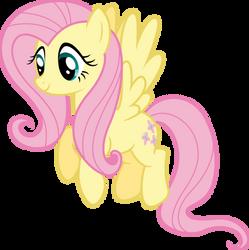 Fluttershy happy by Myardius