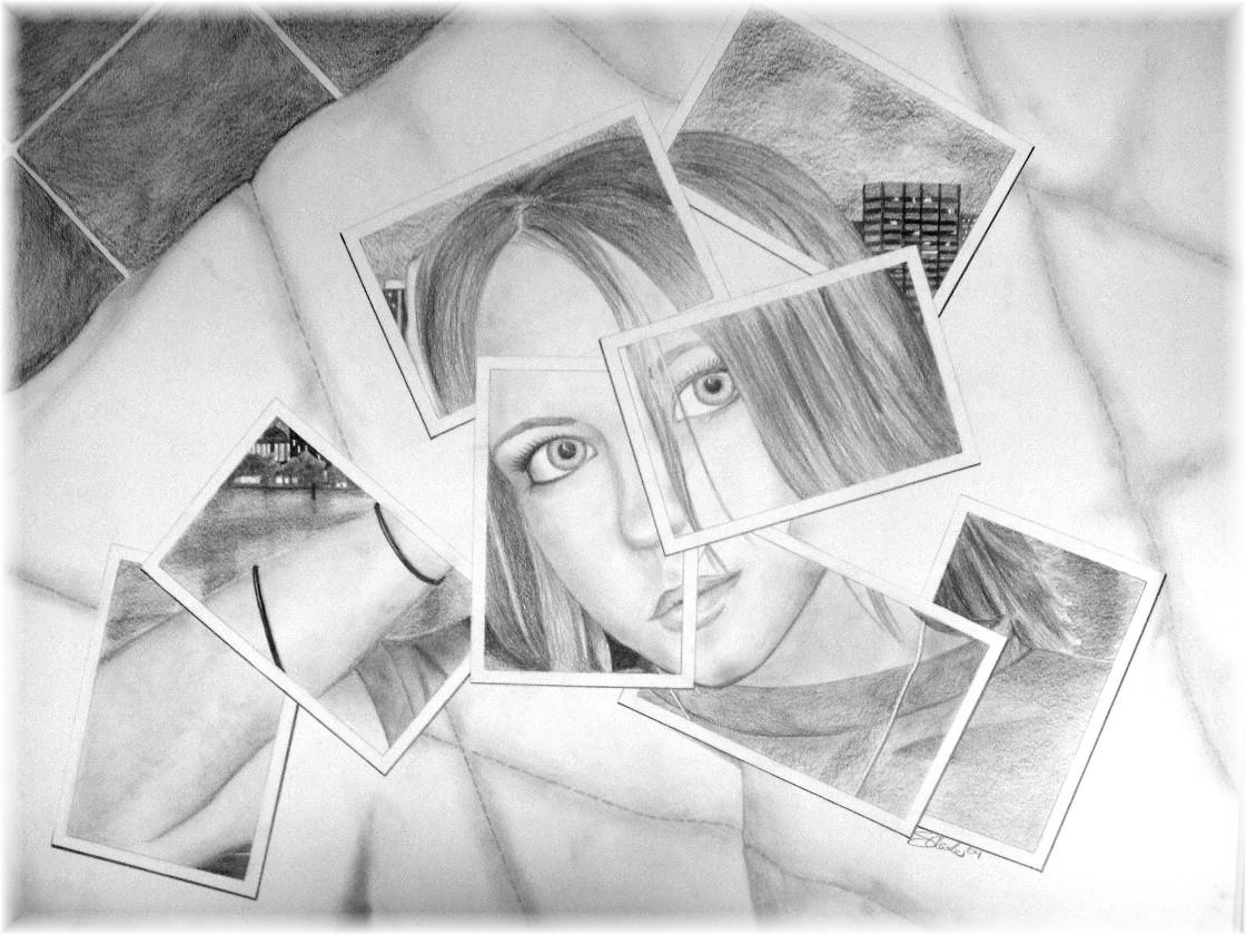 Self Portrait In Pieces By Shamrocks On Deviantart