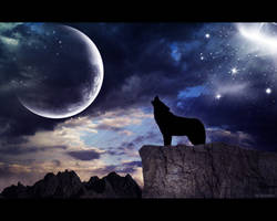 Howling Wolf by TaladarkieJJ