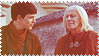 Merlin n Gaius Stamp 2 by TaladarkieJJ