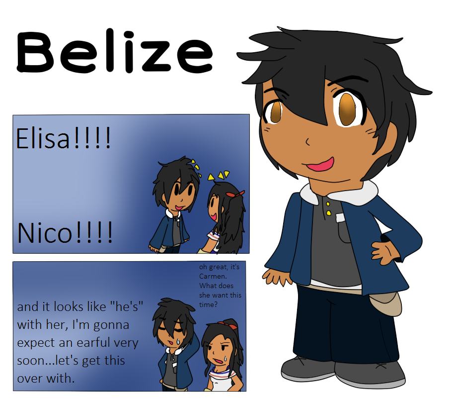 Elementary AU Entry- Belize by poi-rozen