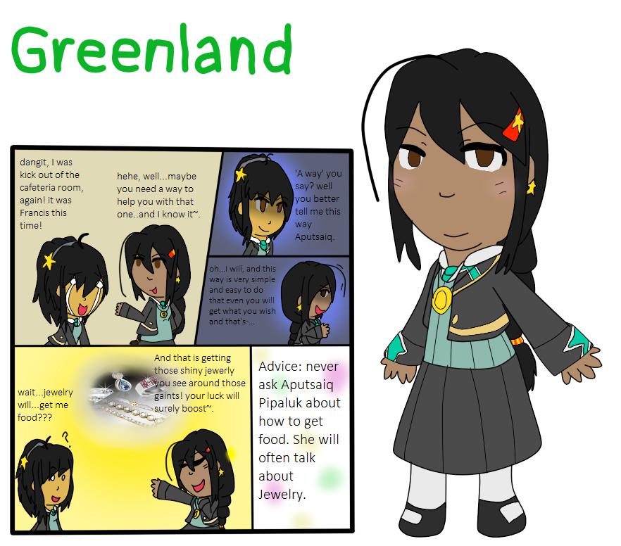 Elementary AU Entry - Greenland by poi-rozen