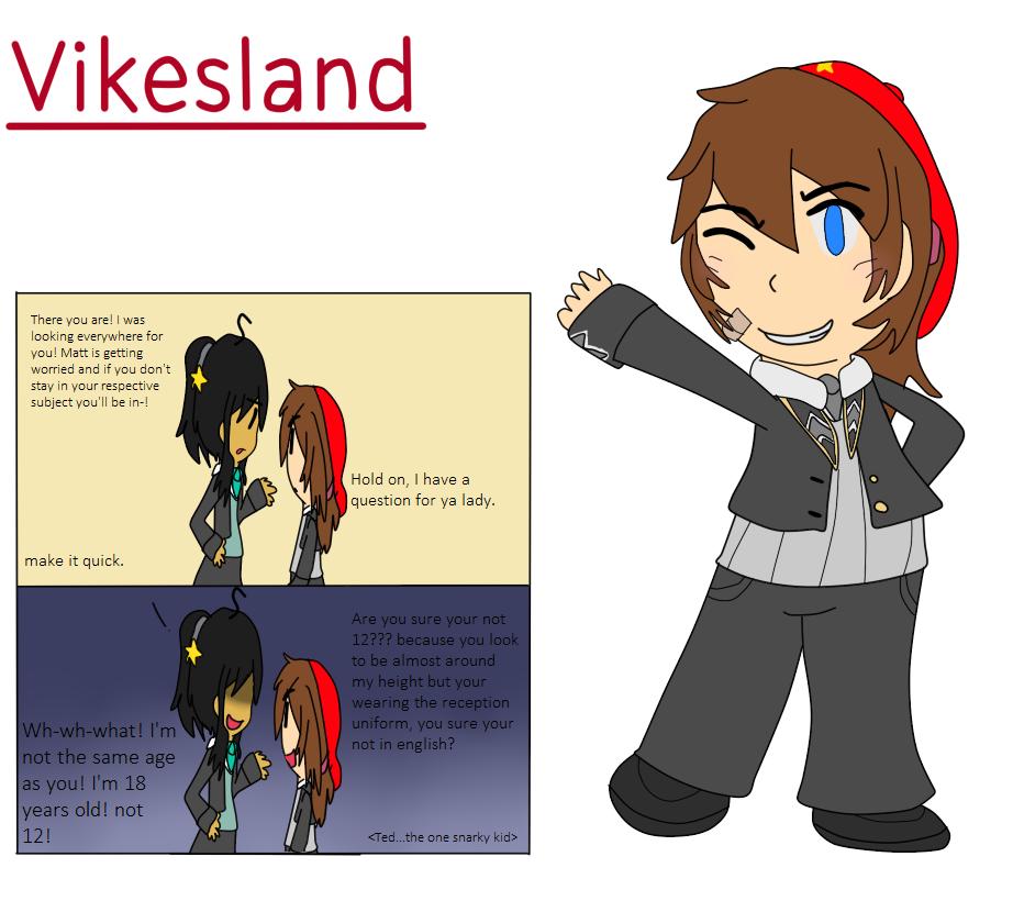 Elementary AU Entry- Vikesland by poi-rozen