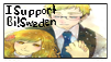 APH - supporting a bisexual!Sweden by poi-rozen