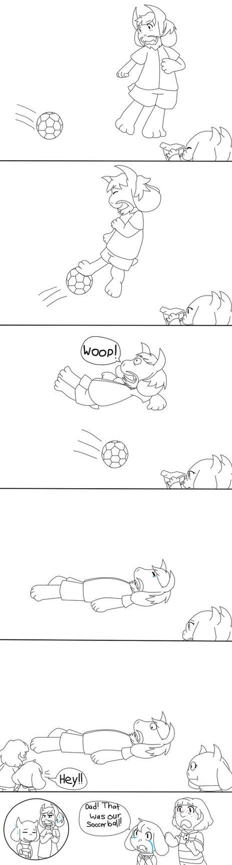 [Undertale] Asgore the Ball Buster by poi-rozen