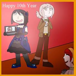 [DR AU] Happy 10th year of Danganronpa