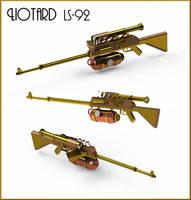 Steampunk Sniper Rifle by Dixbit
