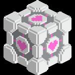 Voxel Companion Cube