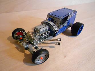 Meccano Hot Rod by Dixbit