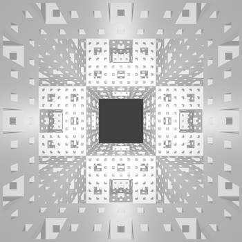 Inside the Menger Sponge by Dixbit
