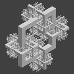 Fractal 09 by Dixbit
