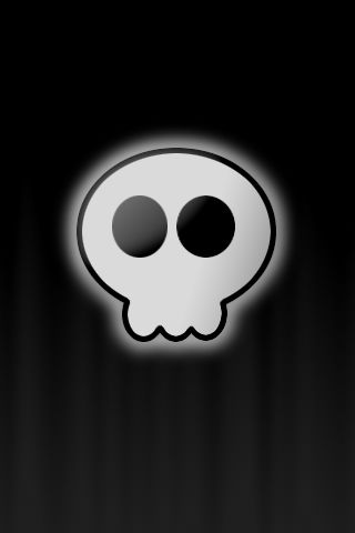 Iphone Skull Wallpaper by WingedTurt1e