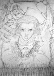 Ligeia's death by TheJollyJokerDancer